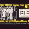 Venereal Disease Bus Poster<br /> How Many of these women have VD? <br /> Date: 1978-1980<br /> Photo by: C. Brady<br /> Scan Date: 11.12.2012<br /> Scanned by: Flora Rodriguez, Archivist on Epson V600<br /> Folder Name: Venereal Disease <br /> Location: Photograph Collection - Slide