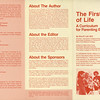 """Brochure for the manual """"The First Year of Life: A Curriculum for Parenting Education"""" by Nina R. Leif M.D.: edited by Mary Ellen Fahs, (NYJL President 1970-1972 and Chairman of this committee), which served to establish the basis for the program, in addition, to providing a guide on how to replicate this program.<br /> Date: 1979<br /> Scanned: 9.2.2014 on Epson V600<br /> By: Flora Rodriguez, Archivist<br /> Folder: ECDC<br /> Location: Programs Collection"""