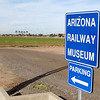 The Arizona Railway Museum is located just southeast of Phoenix. The address is 330 E. Ryan Road, Chandler, Arizona.