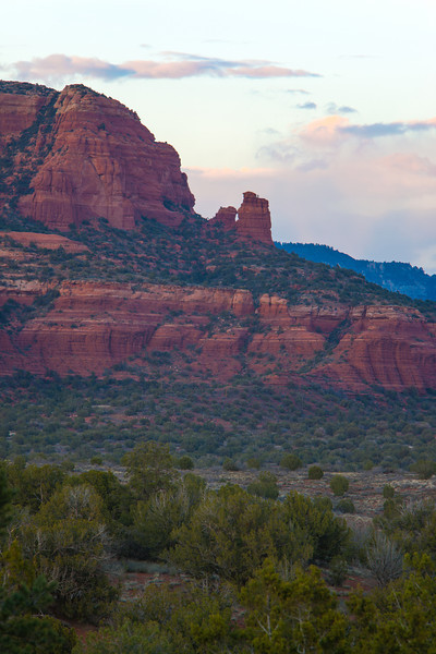 Red rock country in the Coconino National Forest near Sedona, Arizona, USA.