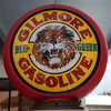 Gilmore Gasoline sign at Bing's Burger Station, Old Town Cottonwood, Arizona, USA.