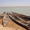 411_Niger River  A  Bozo Village  The Fishermen Boats  Part 1