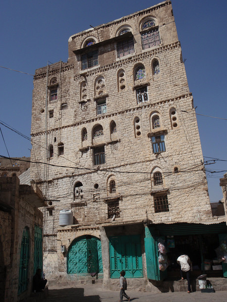 589_Ibb Old Town  Tower House Typically 4 to 5 Storey High
