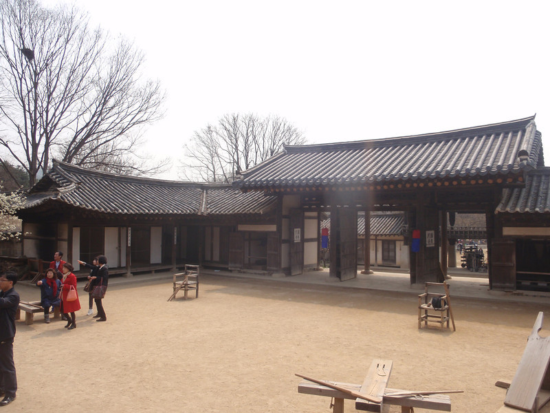 236_Korean Folk Village  The Provincial Governor's Office  To carry out administrative mission  Administration, taxation, military, construction and formalities jpg