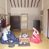 171_Korean Folk Village  Middle Class Farmer's House in the Southern Part  2 parallels houses  Spacious rooms and wooden floor jpg