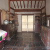 172_Korean Folk Village  Middle Class Farmer's House in the Southern Part  2 parallels houses  Spacious rooms and wooden floor jpg