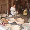 204_Korean Folk Village  Bamboo Handicrafts  Used widely as daily necessities such ass furniture, farming implements and ustensils jpg