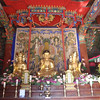 331_Seoraksan National Park  Mt  Seorak  Shinheungsa Temple  The Main Hall  Seated Wooden Amitabha Buddha Triad  1651 jpg