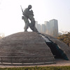 098_Seoul City  War Memorial of Korea  The Statue of two Brothers jpg