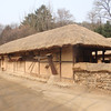 168_Korean Folk Village  Middle Class Farmer's House in the Southern Part  2 parallels houses  Spacious rooms and wooden floor jpg