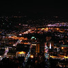 The City at night time, photo from GoReadingBerks