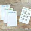 Thing To Do Cards, Double-Sided To Do List, Daily Planner Refill Cards