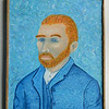 21 Vincent - Homage to Van Gogh - oil, 24x20. $500