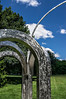 Small Park with Arches 24 <br /> <br /> Toledo Botanical Garden, Ohio<br /> July 24, 2013