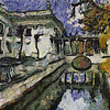 Palace on the Water, Lazienki Park, Warsaw as painted by Van Gogh