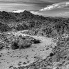 Dry desert arroyo in the Santa Rosa mountains above Palm Springs.<br /> <br /> © Joseph W. Dougherty, MD. All rights reserved.