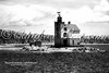 Round Island Lighthouse-B&W-CLW-WM