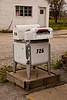 Wringer Washing Machine Mailbox, Rush County, Indiana