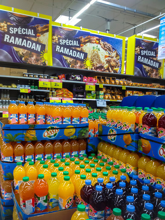 Paris, France, Ramadan Food on display for Sale in French Supermarker, Carrefour