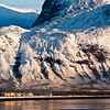 Ben Nevis looms over Caol near Fort William where tempretures are expected to dip to minus twenty this weekend