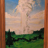 Old Faithful, may 25, 1962, oil, 9x12