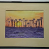 35  Sunset Palms, Yuma, Arizona - watercolor, 10x14  DSCN2621s