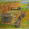 1941 chevy flatbed, 22x30, watercolor,  completed oct 21, 2013 CIMG9126bss