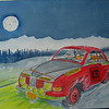 Winter Moonlight Rally, 10x14, watercolor, finished nov 9, 2013 CIMG9163ss