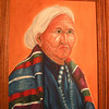 Navaho Woman, 1977, oil, 12x16