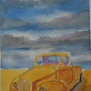 16  Desert Pick-up No 2, 4x6 watercolor, completed aug 15, 2013 CIMG8898