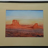 32  The Mitten Buttes, Monument Valley, Arizona - watercolor, 10x14  DSCN2616s