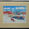 34  Christmas Morning, Saranac Lake - watercolor, 10x14  DSCN2607s