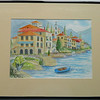 26  Italian Village - watercolor, 10x14  DSCN2608s
