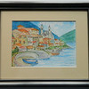 Copy of 2  Lake Maggiore, Italy I - watercolor, 5x7  DSCN2580