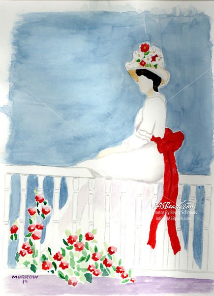 Lady with a Red Sash