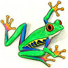 Tree Frog Cartoon