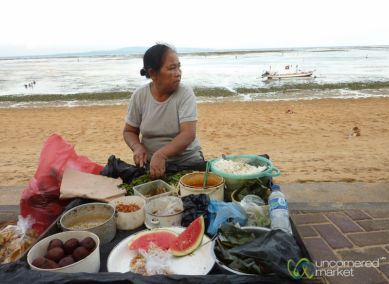 Street Food at Sanur Beach - Bali, Indonesia