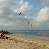 Kite Surfing near Sanur Beach - Bali, Indonesia
