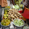 Star Fruit and Potatoes Food Stand - Khulna, Bangladesh