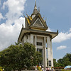 Victims Pagoda, Killing Fields - Phnom Penh, Cambodia