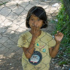 Child at Killing Fields - Phnom Penh, Cambodia