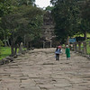 Middle Ruins and Path - Preah Vihear Temple, Cambodia