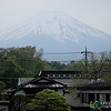 View of Mount Fuji from Hotel - Yamanaka-ko, Japan