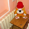 Stuffed Animal at the Sketchy Hotel - Shymkent, Kazakhstan