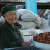 Dried Fruit Vendor at Osh Market, Kyrgyzstan