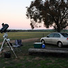 Geoff's Astrophotography set up at Kokerbin Rock - 3/8/2013
