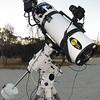 Gear setup for imaging at Kwolyin - night 2 - 1/2/2013