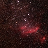 IC4628 - Gum56 - Prawn Nebula in Scorpius - 27/6/2014 (Processed cropped stack)
