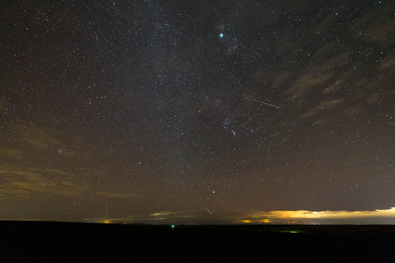 2012 Geminids and the Blue Mountains