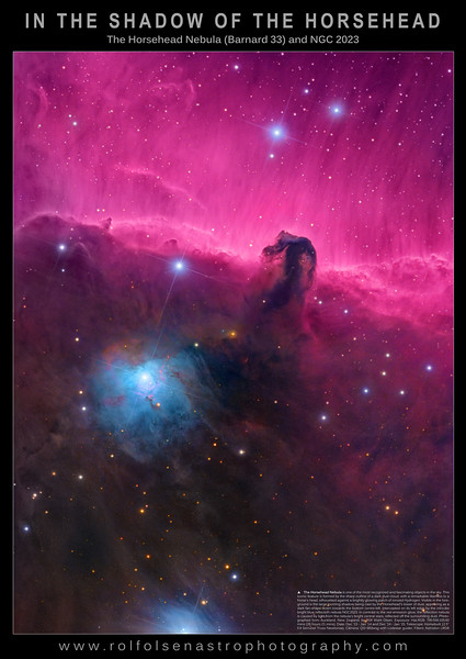 Large Format Poster: In the Shadow of the Horsehead